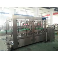 Best Juice Milk filling and aluminum foil cutting and sealing machine HDPE PP bottle wholesale