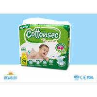 China Nonwoven Top Sheet Custom Diapers For Babies Untreated Fluff  Pulp Absorbency Core on sale