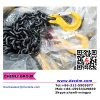 China Grade 80 chain with clevis slip hook w/latch both ends on sale