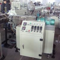 Best SJSZ45 Double PVC Pipe Conical Single Screw Extruder For PE Pipe wholesale