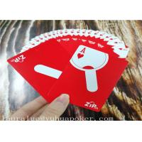 Best 350 Gsm Art Paper Poker Playing Cards 2.25 X 3.5 Inch YH6 Both Sides 4C Custom wholesale