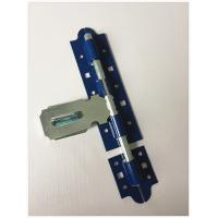 China Blue Color Door Latch Hardware 6  Long Durability High Precision Design on sale