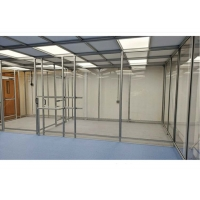 Best Stainless Steel Frame Simple Softwall Clean Room Class 100 To Class 100000 wholesale