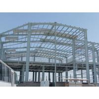 Buy cheap Prefabricated Steel Structures Workshop Buildings Easy Assemble Labor Qatar from wholesalers