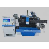 Buy cheap 500 * 3000mm Laser Cutting Machine Touch Screen Controlled For Metal Plate from wholesalers