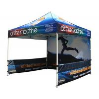 Best Aluminum Structure Custom Printed Canopy Tent CMYK Heat Transfer Printing wholesale