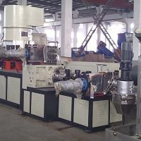 Cheap Double Stage Recycling Plastic Extrusion Line With Two Single Screw Extruders for sale
