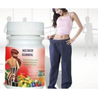 Cheap 350mg Mix Fruit Botanical Slimming Capsule No Side Effect for sale