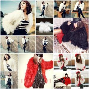 China Women's Sheepskin Coats Sheep Fur Coats Sheepskin Jackets Sheep Fur Jackets With 3 Colors 10Z on sale
