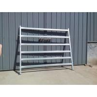 China Cattle Panel Gate Cattle Yard Fence Heavy Duty 6 Oval 1.6mm thick 1.8Mx2.1M on sale