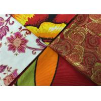 Best Soft Cotton African Batik Fabric With Art Design Wax Painting For Pants / Shirts wholesale