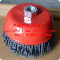 China 4 inch Abrasive cup brush on sale