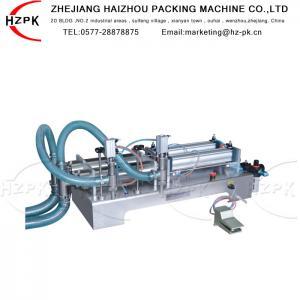 Best Antiexplosive Semi Automatic Liquid Filling Machine 300-2500 Ml Range wholesale