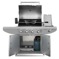 LP Propane BBQ Gas Grill Commercial Kitchen Equipment for Picnic , 4 - 6 Burners