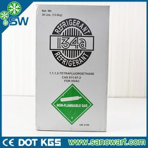 China Latest low cost tetrafluoroethane r134a refrigerant on sale