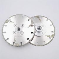 Best 125mm Electroplated Reinforced Diamond Cutting Blade M14 Thread 5 Inch With Protection wholesale