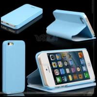 Best Left and Right PU Leather Case with Suport for The iPhone 5 P-Iph5case001 wholesale