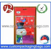 China Biodegradable Plastic Party Treat Bags HDPE With Ties For Gift wholesale