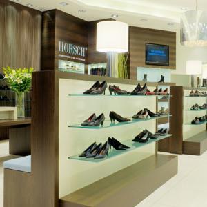 Best customized fashion shoe shop equipment for retail shoe shelf display wholesale