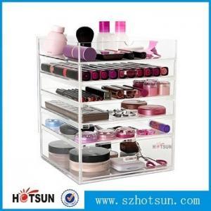 China Acrylic cosmetic makeup organizer/ makeup brush display/ makeup brush holder,Fashion acrylic Design Makeup Organizer on sale