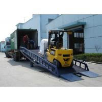 China User Friendly Truck Dock Ramps , Movable Dock Ramp For Factories / Stations on sale