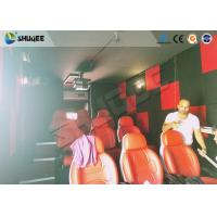 Best Motion Seat In XD Theatre With Cinema Simulator System / Special Effect Machine wholesale