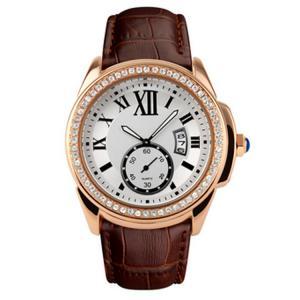 Best Big Dial Luxury Alloy Wrist Watch With Diamond Stone Case , Women Jewellery Watches wholesale