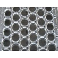 China American Perf O Grip Grating , Galvanized Perforated Walkway Grating on sale