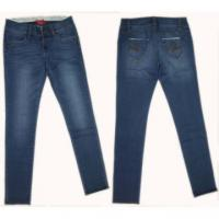 China 2014 NEW women's high waist jeans women skinny pants buttons tight pencil pants lady Slim Jeans on sale