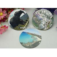 Best Logo print mirror type thin piece fridge magnets custom with any image design wholesale