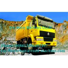 China Yellow 336 Horsepower Manual Heavy Duty Dump Truck / Diesel 6 x 4 Dump Truck wholesale