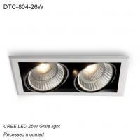 Best Indoor IP40 recessed mounted adjustable angle 26W COB LED down light for home decoration wholesale