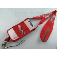 Best Functional stretchable mobile phone pouch lanyards, spandex mobile phone holder lanyards, wholesale