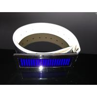 Buy cheap Customized LED message display belt buckle for party from wholesalers