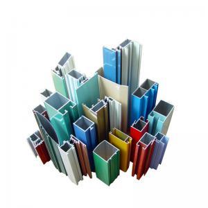 Best Colorful Powder Coating Aluminium Extrusion Windows Profile 6063-T5 wholesale
