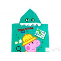 Best Customized Childrens Towelling Ponchos , Babies Swimming Towels With Hoods 400gsm wholesale