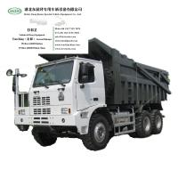 Buy cheap Sinotruk HOWO 70ton Mine Dump Truck U-Box Tipper Truck WhsApp:+8615271357675 from wholesalers