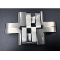China Casting SS 304 Adjustable Soss Hinges / Invisible Hinges For Cabinet Doors on sale