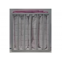 Best Polyester Ahu 3500m³/H Pocket Air Filter / Bag Filter F7 To F9 Efficiency wholesale