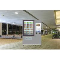 Cheap Coin / Bilnote / Credit Card Operated Vending Machine For Snacks And Drinks for sale