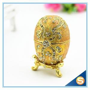 Faberge Egg Trinket Box Jewelry Box Metal Gift Box