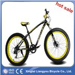 China 26'' Fat Bike 11 speed/Fat Tyre Snow Bike/Big Tyre Bike Fat Tyre Sand Bike on sale