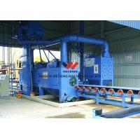 China Welding / Steel Plate Shot Blasting Machine For Cleaning And Blasting on sale