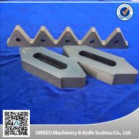 Best Cr12Mov Material Plastic Granulator Blades For Copper Cables High Toughness wholesale
