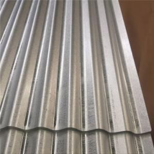 China Dipped Galvanized Corrugated Sheet As Per JIS G3302 SGCH Regular Spangle Chromated on sale