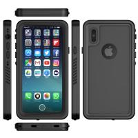 Best Waterproof IPX8 Mobile Phone Protective Cases Black Color For IPhone X wholesale