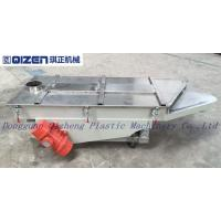 China Customized Single Deck Vibrating Screen , Raw Material Screening Equipment on sale