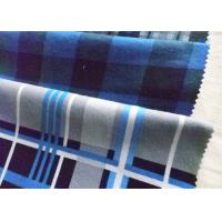 Best Twill Cotton Flannel Cloth Plaid Fabric Oil Proof Plain Dyed For Shirt wholesale