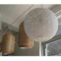 Best 2016High Quality Bamboo Classical Round Lampshade, Unique Lampshade,lamps and lanterns wholesale