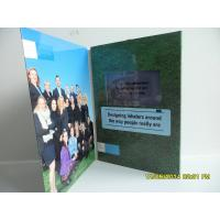 Best Best Matt / Glossy Lamination LCD Birthday Card ,  LCD Video Brochure With Pocket wholesale